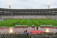 warming-up pictured after a female soccer game before RSC Anderlecht Dames and Oud Heverlee Leuven on the seventh matchday of play off 1 of the 2020 - 2021 season of Belgian Womens Super League , saturday 15 th of May 2021  in Brussels , Belgium . PHOTO SPORTPIX.BE   SPP   STIJN AUDOOREN