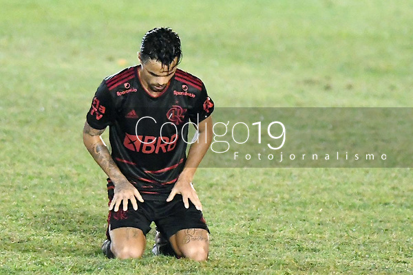 Saquarema (RJ), 27/03/2021 - Boavista-Flamengo - Michael jogador do Flamengo,durante partida contra o Boavista,válida pela 6ª rodada da Taça Guanabara,realizada no Estádio  Elccyr Resende,distrito de Bacaxá,Saquarema (RJ),neste sábado (27).