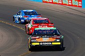 2017 Monster Energy NASCAR Cup Series<br /> Camping World 500<br /> Phoenix International Raceway, Avondale, AZ USA<br /> Sunday 19 March 2017<br /> Gray Gaulding, Kyle Busch, Skittles Toyota Camry and Kyle Larson<br /> World Copyright: Russell LaBounty/LAT Images<br /> ref: Digital Image 17PHX1rl_7413