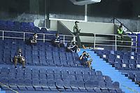 BARRANQUILLA - COLOMBIA, 16-01-2021:Atlético Junior y Deportivo Independiente Medellín en partido por la fecha 1 de la Liga BetPlay DIMAYOR 2021 jugado en el estadio Metropolitano Roberto Meléndez de la ciudad de Barranquilla. /Atlético Junior and Deportivo Independiente Medellin in match for the date 1 as part of BetPlay DIMAYOR League 2021 played at Metropolitano Roberto Melendez  stadium in Barranquilla city.  Photo: VizzorImage / Jesus Rico / Contribuidor