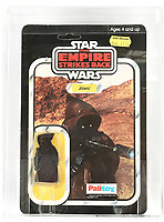 Three rare Star Wars toys still in their original packaging have sold for a combined £20,000.