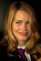 Claudia Shiffer<br /> , 26 Nov 1999<br /> <br /> PHOTO : Agence Quebec Presse