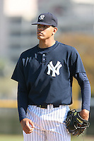 March 17th 2008:  Dellin Betances of the New York Yankees minor league system during Spring Training at Legends Field Complex in Tampa, FL.  Photo by:  Mike Janes/Four Seam Images