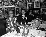 PATRICK HOURCADE<br /> FESTA DELLO STILISTA MIGUEL CRUZ A LA TAMPA MILANO 1987