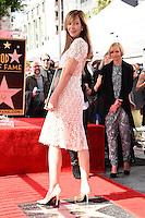 Allison Janney @ her Walk of Fame ceremony held @ 6100 Hollywood blvd. October 17, 2016