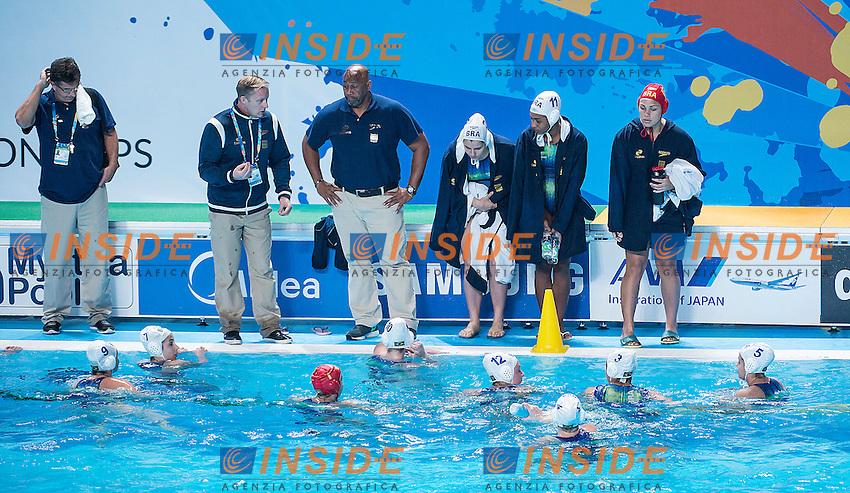Team Brazil BRA<br /> Preliminary Round II<br /> Waterpolo - Waterpolo Arena<br /> Day09 01/08/2015<br /> XVI FINA World Championships Aquatics Swimming<br /> Kazan Tatarstan RUS July 24 - Aug. 9 2015 <br /> Photo A.Masini/Deepbluemedia/Insidefoto