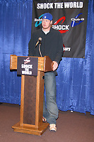 Jeremy Shockey Announced As The New Spokesperson For Casio's G-Shock Watch Line Giants Stadium, NJ 12/09/2002 Credit: John Barrett/PhotoLink/MediaPunch