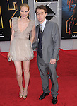 Leslie Bibb & Sam Rockwell at the Marvel World Premiere of Iron Man 2 held at The El Capitan Theatre in Hollywood, California on April 26,2010                                                                   Copyright 2010  DVS / RockinExposures