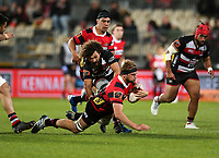 Action from the Mitre 10 Cup rugby match between Canterbury and Counties Manukau Steelers at Orangetheory Stadium in Christchurch, New Zealand on Saturday, 28 September 2019. Photo: Martin Hunter/ lintottphoto.co.nz