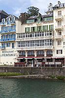 France, Ille-et-Vilaine (35), Côte d'Emeraude, Dinard: Hôtel Printania et Restaurant: La Gonelle,