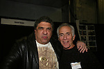 Vincent Pastore - Bruce Weitz appears at Big Apple Comic Con for autographs and photos on October 16 (and 17 & 18), 2009 at Pier 94, New York City, New York. (Photo by Sue Coflin/Max Photos)