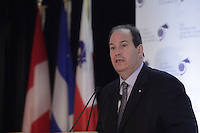 Denis Berthiaume,<br /> President and Chief Operating Officer, Desjardins Assurances  <br /> attend the International Economic Forum of the Americas 20th Edition, from June 9-12, 2014 <br /> <br />  Photo : Agence Quebec Presse - Pierre Roussel