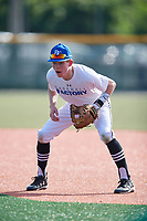 Jackson Walonis (61), from Walpole, Massachusetts, while playing for the Royals during the Baseball Factory Pirate City Christmas Camp & Tournament on December 28, 2017 at Pirate City in Bradenton, Florida.  (Mike Janes/Four Seam Images)