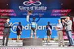 Peter Sagan (SVK) Bora-Hansgrohe takes over the mountains Maglia Azzurra at the end of Stage 2 of the 103rd edition of the Giro d'Italia 2020 running 149km from Alcamo to Agrigento, Sicily, Italy. 4th October 2020.  <br /> Picture: LaPresse/Gian Mattia D'Alberto | Cyclefile<br /> <br /> All photos usage must carry mandatory copyright credit (© Cyclefile | LaPresse/Gian Mattia D'Alberto)