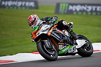 Kyle Ryde (97) of Quattro Plant FS-3 Racing Kawasaki during practice in the MCE BRITISH SUPERBIKE Championships 2017 at Brands Hatch, Longfield, England on 13 October 2017. Photo by Alan  Stanford / PRiME Media Images.