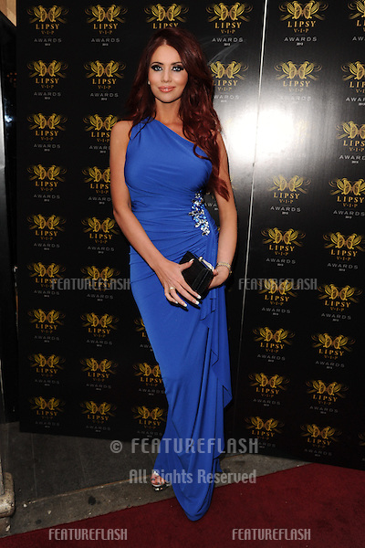 Amy Childs arriving for the Lipsy Fashion Awards,  at Dstrkt, London. 29/05/2013 Picture by: Steve Vas / Featureflash
