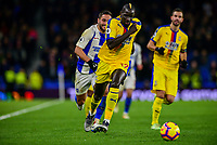 Mamadou Sakho of Crystal Palace In action ,during the Premier League match between Brighton and Hove Albion and Crystal Palace at the American Express Community Stadium, Brighton and Hove, England on 4 December 2018. Photo by Edward Thomas / PRiME Media Images.
