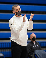 Vic Rimmer the head basketball coach of Fayetteville girls basketballl game at King Arena, Rogers, AR January 8, 2021 / Special to NWA Democrat-Gazette/ David Beach