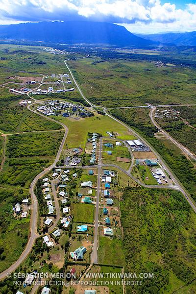 Entrée sud de Koné, Nouvelle-Calédonie