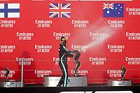 1st November 2020, Imola, Italy; FIA Formula 1 Grand Prix Emilia Romagna, Race Day; 77 Valtteri Bottas FIN, Mercedes-AMG Petronas Formula One Team on podium and takes 2nd place