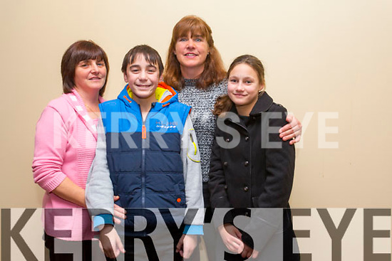 Catherine Griffin, Jerry Griffin, Gretta Quirke and Myra Griffin enjoying the Different Cultures night in aid of the Butterfly project at Fels Point Hotel on Saturday