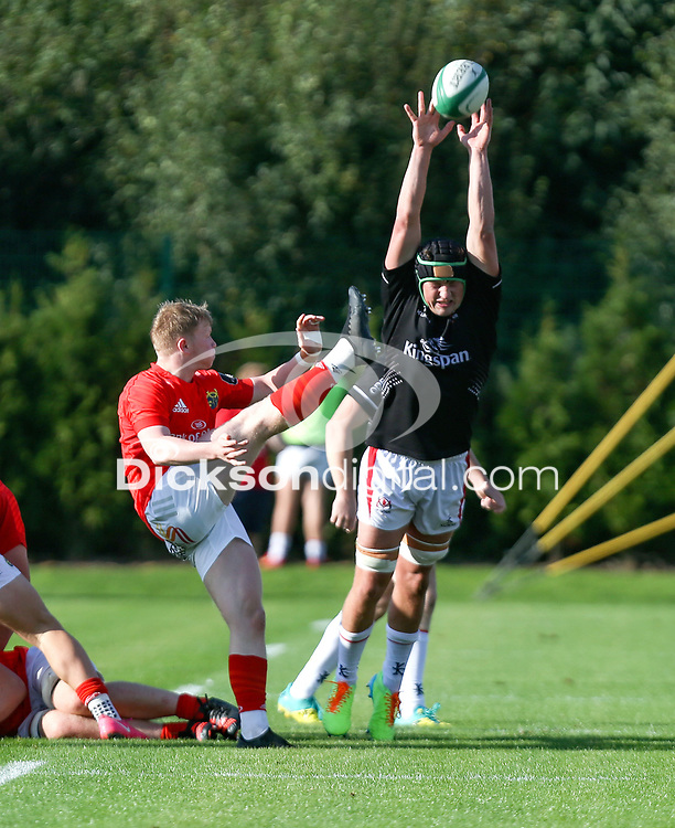 Saturday 18th September 2021<br /> <br /> Ethan Coughlan during the Development A Interprovincial game Ulster A and Munster A at the IRFU High Performance Centre, Dublin, Ireland. Photo by John Dickson/Dicksondigital