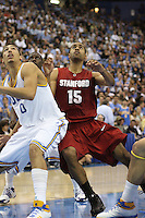 LOS ANGELES, CA - JANUARY 31:  Lawrence Hill of the Stanford Cardinal during Stanford's 97-63 loss to the UCLA Bruins on January 31, 2009 at Pauley Pavilion in Los Angeles, California.