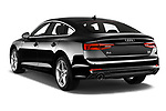 Car pictures of rear three quarter view of 2019 Audi A5-Sportback Premium 5 Door Hatchback Angular Rear