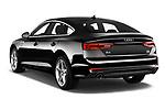 Rear three quarter view of 2019 Audi A5-Sportback Premium 5 Door Hatchback Angular Rear