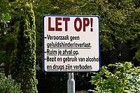 Nederland - Hoorn- 2020.      Tuin bij het Oude Vrouwenhuis.   Foto ANP / HH / Berlinda van Dam