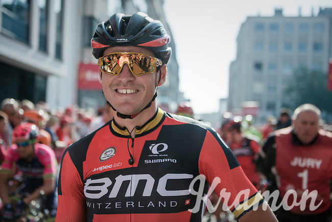 'golden boy' Greg Van Avermaet (BEL/BMC) on the start line<br /> <br /> 12th Eneco Tour 2016 (UCI World Tour)<br /> stage 3: Blankenberge-Ardooie (182km)