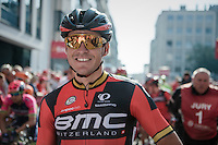 'golden boy' Greg Van Avermaet (BEL/BMC) on the start line<br /> <br /> 12th Eneco Tour 2016 (UCI World Tour)<br /> stage 3: Blankenberge-Ardooie (182km)