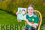 Rebecca O'Leary Kilcummin who won the Kerry LGFA art competition for her picture of Anna Galvin
