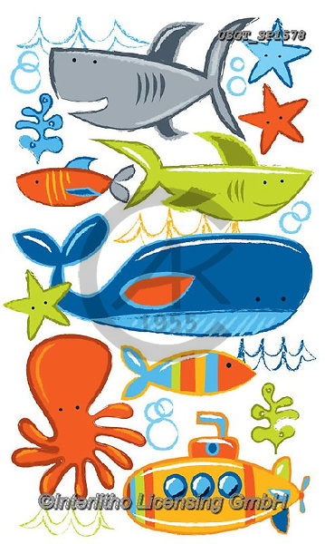 Lamont, GIFT WRAPS, GESCHENKPAPIER, PAPEL DE REGALO, paintings+++++,USGTSP1578,#gp#, EVERYDAY ,notebook,notebooks,maritime,sharks,wales,submarine ,sticker,stickers