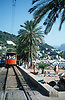 tramway beside the beach<br /> <br /> tranvía a lado de la playa<br /> <br /> Straßenbahn neben dem Strand<br /> <br /> Original: 35 mm slide transparency