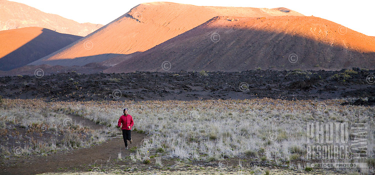 Hiking/camping in Maui's Haleakala National Park