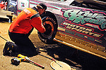 Feb 12, 2011; 7:58:45 PM; Gibsonton, FL., USA; The Lucas Oil Dirt Late Model Racing Series running The 35th annual Dart WinterNationals at East Bay Raceway Park.  Mandatory Credit: (thesportswire.net)