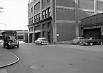 Pittsburgh PA - View of the Thorofare warehouse and offices at 17th and Smallman Streets in the Strip District.  On location assignment for Commonwealth Realty, selling the Thorofare warehouse building