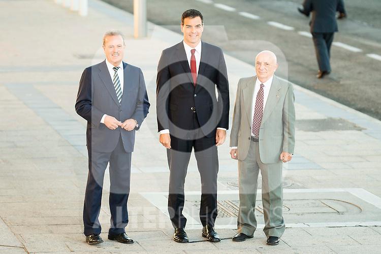 The president of PSOE, Pedro Sanchez attends to the debate between the 4 principals candidates at Palacio de Congresos in Madrid. June 13, 2016. (ALTERPHOTOS/BorjaB.Hojas)