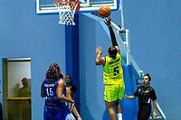 Santo André (SP), 13/11/2020 - Santo André-Vera Cruz - Partida entre Santo André/APABA e Vera Cruz Campinas pelo Campeonato Paulista de Basquete Feminino em Santo André, na noite desta sexta-feira (13).