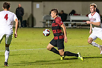STANFORD, CA - NOVEMBER 26: Stanford, CA November 24, 2019. The Stanford Cardinal Men's Soccer Team vs Seattle Redhawks at Cagan Stadium.  Stanford Cardinal defeats Seattle Redhawks 1-1  Stanford wins on penalty kicks 2-1 during a game between Seattle and Stanford Soccer M at Cagan Stadium on November 26, 2019 in Stanford, California.