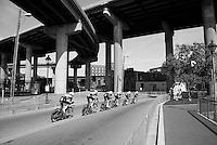 Team Etixx-Quickstep (BEL) on course<br /> <br /> Elite Men's Team Time Trial<br /> UCI Road World Championships Richmond 2015 / USA