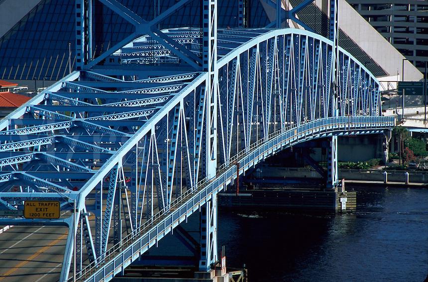 Main Street Bridge over St. John's River, Jacksonville, Florida