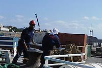 Auf der Fähre Santo Antao - Sao Vicente, Kapverden, Afrika