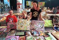 - social center Leoncavallo, eight edition of the Hiu, international Happening of underground publishing, graphics and comic strips ....- centro sociale Leoncavallo, ottava edizione dell' Hiu, Happening internazionale dell'editoria, grafica e fumetti underground