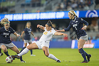 San Jose, Ca - December 2, 2016: The University of Southern California (USC) defeated Georgetown 1:0 during a semi-final match of the NCAA Women's Soccer College Cup at Avaya Stadium in San Jose California.