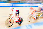 Gael Suter of Switzerland competes on Men's Omnium Elimination during the 2017 UCI Track Cycling World Championships on 15 April 2017, in Hong Kong Velodrome, Hong Kong, China. Photo by Marcio Rodrigo Machado / Power Sport Images