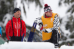Vancouver 2010 - Para Nordic Skiing // Ski paranordique.<br /> Mark Arendz competes in Para Biathlon // Mark Arendz participe en parabiathlon. 13/03/2010.