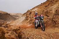 7th January 2021; Riyadh to Buraydah, Saudi Arabia; Dakar Rally, stage 5;  #29 Gyenes Emanuel (rou), KTM, Autonet Motorcycle Team, Original by Motul, Moto, Bike, action during the 5th stage of the Dakar 2021 between Riyadh and Al Qaisumah, in Saudi Arabia on January 7, 2021