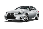 Stock pictures of low aggressive front three quarter view of a 2015 Lexus IS 350 4 Door Sedan
